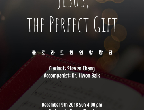 "The Festival of Carols 2018 ""Jesus, the Perfect Gift"""